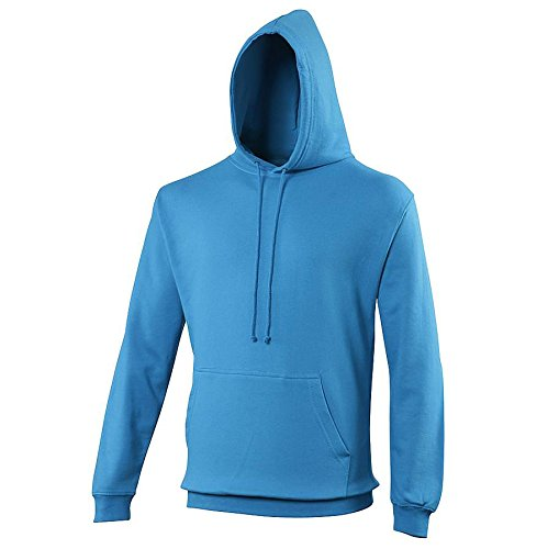 Pullover College Hoodie - 46 Different Colours Available Sapphire Blue