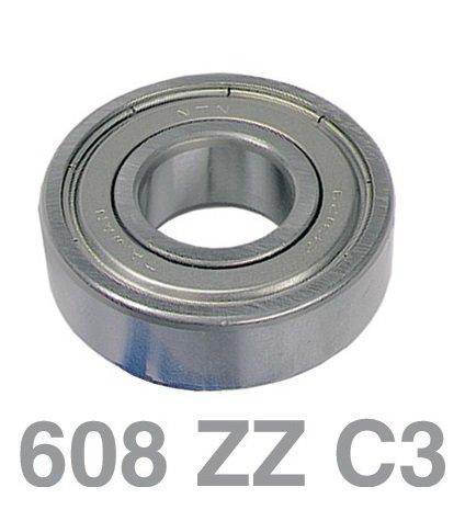 Roulement à billes 608ZZ C3NTN SNR universelles 8x 22x 7mm à laver Appareil Sèche Linge
