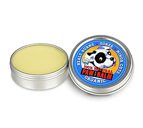 Opie & Dixie Organic Paw Balm for Dogs, 100% Natural Healing Dog Paw Wax to soothe dog's dry cracked paws, 57g
