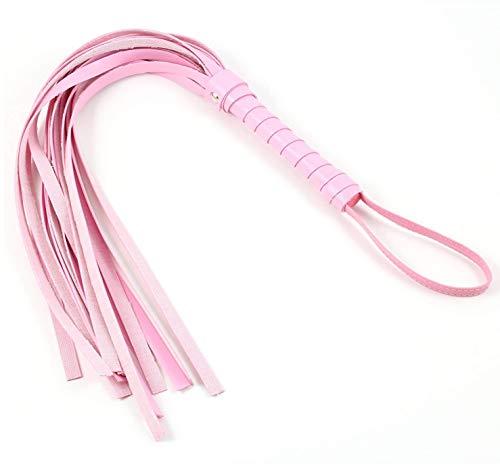Eroticave Leder BDSM Bondage Sex Peitsche Flogger pink