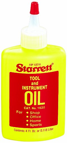 Starrett 1620 Tool and Instrument Oil