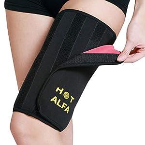 LIOOBO 1 para Sauna Bein Abnehmen Oberschenkel Gürtel Gewicht Verlieren Body Shaper Compression Oberschenkel Wrap…