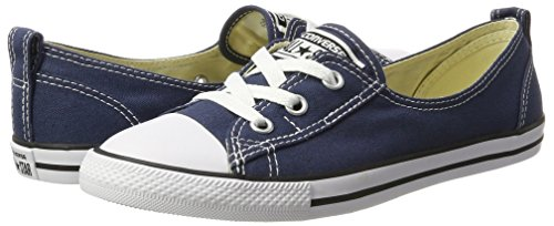 Converse Unisex-Erwachsene All Star Ballet Lace Sneaker, Blau (Navy), 39 EU - 5