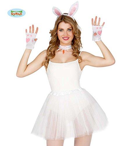 Guirca Fiestas GUI18586 - 4-Teiliges Bunnygirl-Set
