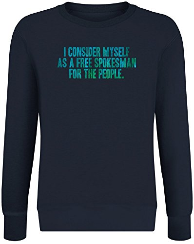 I Consider Myself As A Free Spokesman for The People Sweater-Jumper for Men & Women - Soft Cotton & Polyester Blend - High Quality DTG Printing - Custom Printed Unisex Clothing