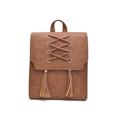 Mefly Borsa a tracolla nuova moda Brown brown