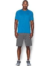 Under Armour Ua Tech Ss Tee Herren Fitness - T-Shirts & Tanks, Blau Brilliant Blue Stealth Grey, L