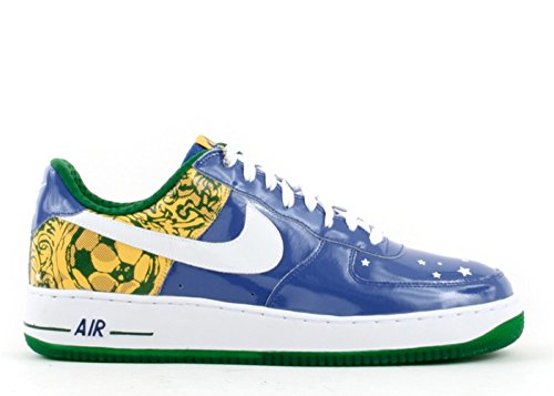Nike AIR Force 1 Premium (Ronaldinho) 'Collection Royale' - 313983-411 - Size 44.5-EU Royale Collection