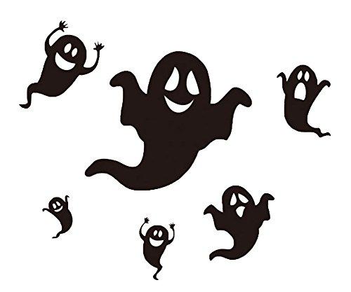 en PVC Wandaufkleber Wandtattoos Wand Aufkleber Wandtattoo Wandsticker Sticker (Geist) (Halloween-wandtattoos)