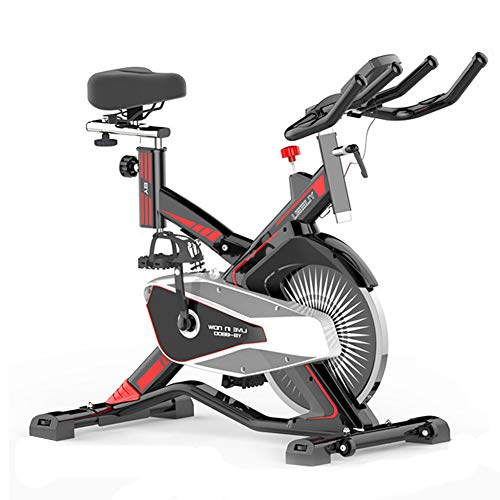 Bicicleta Spinning Profesional,Bicicleta Estatica LCD Multifunción Electronica Sensor de Frecuencia...