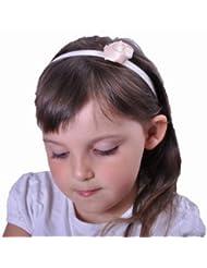 Style Nuvo - Bandeau -  Fille taille unique -  Jaune - Crème - Taille unique