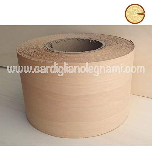 Impiallacciatura/bordo / tranciato tanganika 6/10 senza colla larghezza 29 cm - 5 metri