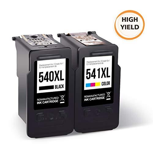 MyCartridge kompatibel Canon PG-540XL CL-541XL Druckerpatronen für Canon PIXMA MG2150 MG2250 MG3150 MG3250 MG3550 MG4150 MG4250 MX375 MX395 MX435 MX455 MX475 MX515 MX525 MX535 TS5150 TS5151 Drucker