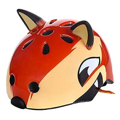 OLEEKA Kids Cycle Helmet, Boys Girls Helmet, Fox, Shark, Bear, Monster Safety Skating Cute Helmet, Skateboard Ski Climb Moto Helmet from OLEEKA
