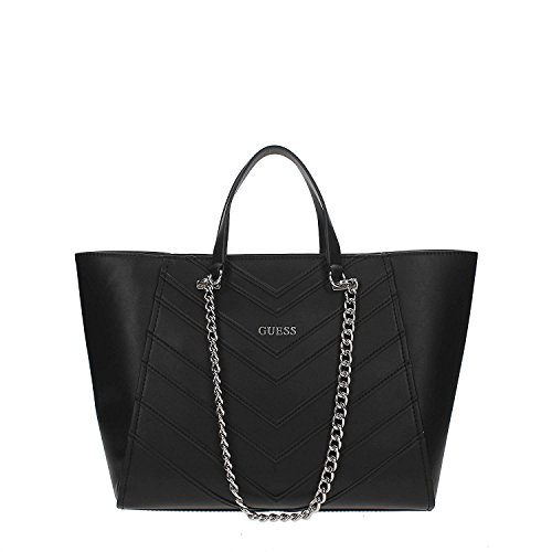 Guess Nikki Chain tote handbag Black