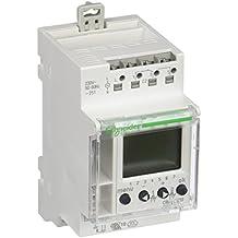 Schneider Electric CCT15722 Conmutador Intuitivo, 2 Canales, 24 Horas, 7 Días