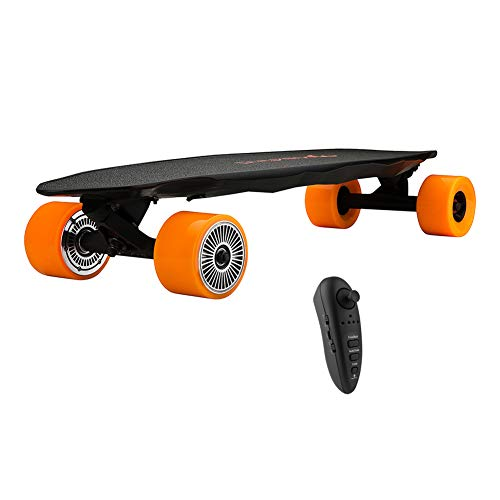 Maxfind Skateboard Electric Cruiser Skateboard Longboard 31 '' con Black Remoter Dual Hub Motor 2000W MAX Speed 23MPH Mile Range...