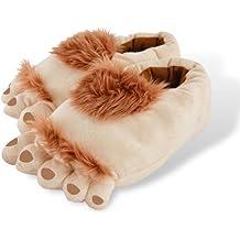 Fun Hairy Unisex Savage Monster Hobbit Feet Plush Out ... |Hobbit Feet Slippers