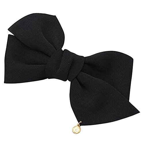 Frauen Big massiv Tuch Schleife Haar Clip Haarspange Haar Zubehör Hochzeit Haar Schmuck