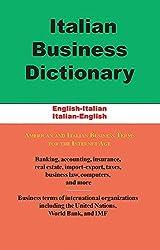Italian Business Dictionary: English-Italian, Italian-English by Morry Sofer (2015-01-15)