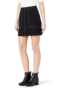 FIND Minifalda Vaquera Mujer