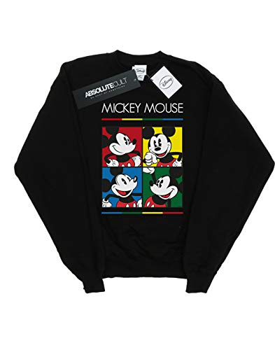 Disney Niños Mickey Mouse Square Colour Camisa De Entrenamiento