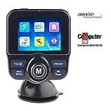 auvisio DAB Auto: DAB+/DAB-Empfänger, FM-Transmitter, Bluetooth, Freisprecher, MP3, USB (DAB Kfz)