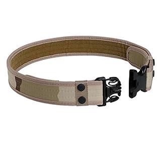 Aquiver Tactical Belt Outdoor Sports Waistband Army Tactical Military Trouser Buckle Belt (Desert)