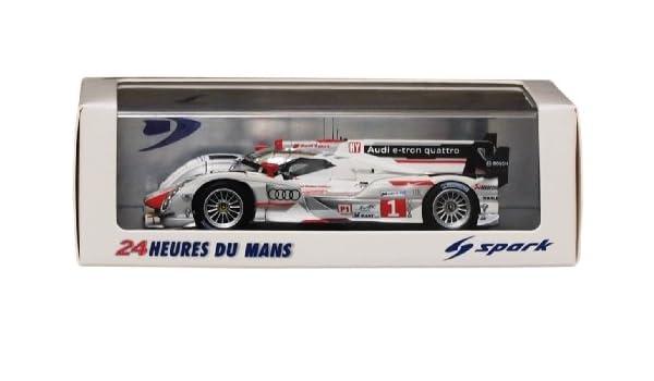 DIE CAST 24 Heures du Mans AUDI R18 e-tron Quattro 2012 SCALA 1//43 ATLAS EDITION