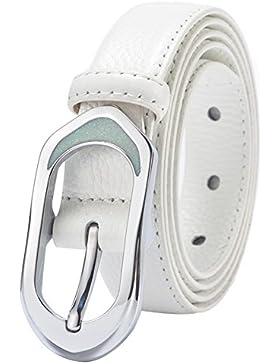 Correa De Cuero De Damas/Cinturón Blanco/Simple,Moda,Suave,Cinturón