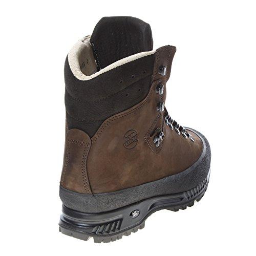 Hanwag Yukon, Chaussures de Trekking et Randonn&EacuteE Homme erde-brown