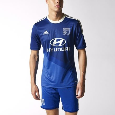 Adidas Herren Trikot Olympique Lyon Replica Spieler-Auswärts, L