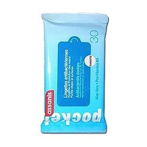 Assanis Lingettes Antibacteriennes - Format Pocket De 30