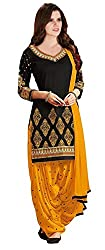 Dress Material(Fashion Dream Women's clothing dress material party wear today offers low price sale buy online Synthetic febric free size salwar suit dupatta)