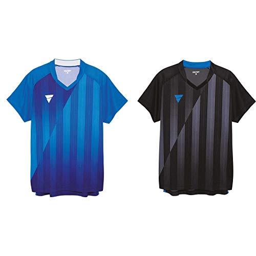 VICTAS Hemd V-Shirt 211, XXXS, Schwarz