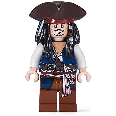 LEGO Piratas des Caribe - Jack Sparrow con tricornio (edición rara)