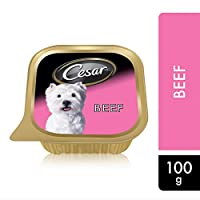 Cesar Beef, Wet Dog Food, 100g x 6