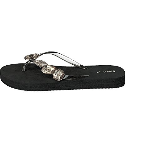 Siebis Miami Trendy Calzature Da Bagno Flips Ladies Black