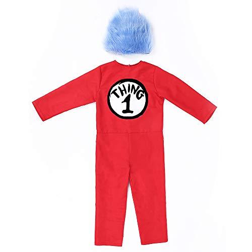 Seuss Kostüm - DuHLi Dr. Seuss Kinderbekleidung Ready Lustiges Dr. Sousse Kostüm,M