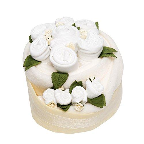 Célébration bébé gâteau - Blanc classique