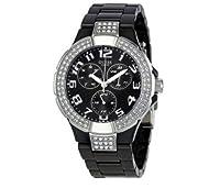 Reloj Guess W13564L2 de cuarzo para mujer con correa de resina, color negro de Relojitos Euromediterranea