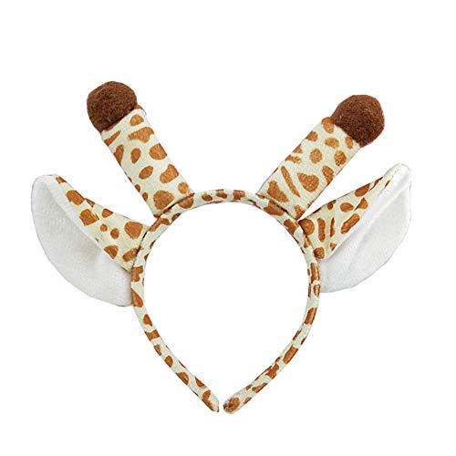 eihnachten Elk Fawn Stirnband Leistung Tier Kopfbedeckung Kindertag Party Giraffe Ohr Haarschmuck ()