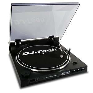 lecteur platine dj tech vinyl usb 1 entrainement par. Black Bedroom Furniture Sets. Home Design Ideas