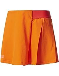 adidas G Falda de Tenis, niñas, Naranja-(narrad), ...