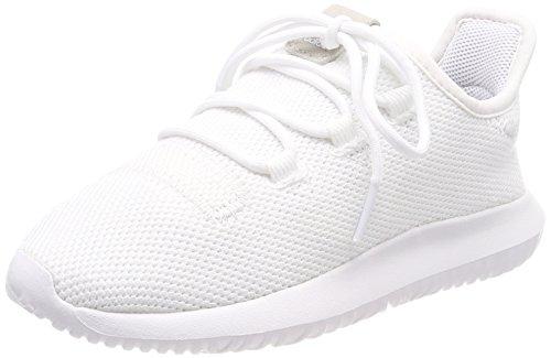 adidas Unisex-Kinder Tubular Shadow C Fitnessschuhe, Footwear White/Core Black, 29 EU