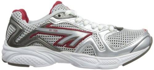 Hi-Tec R156 Jr Jungen Laufschuhe White/Red/Silver/Black