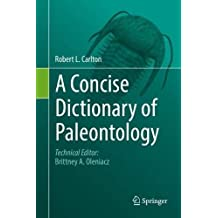 A Concise Dictionary of Paleontology