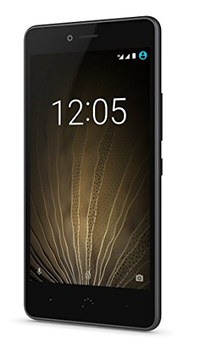 BQ Aquaris U Lite   Smartphone de 5   (WiFi  Bluetooth 4.2  Qualcomm Snapdragon 425  Quad Core  16 GB de memoria interna  2 GB de RAM  cámara de 8 MP  Android 6.0.1 Marshmallow) negro y gris grafito