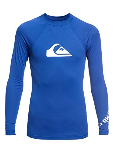 Quiksilver Jungen All Time L/sl Surf Tee, Electric Royal, M/12