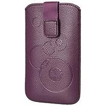 Funda Circle púrpura apto para Microsoft Lumia 535–Funda protectora slim case cover Funda Púrpura (S5)